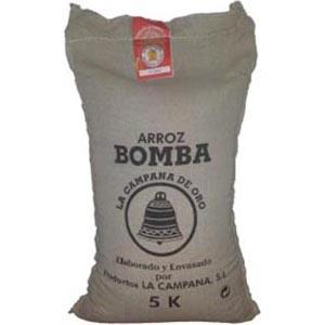 Arroz Bomba  5 K. La Campana D.O.