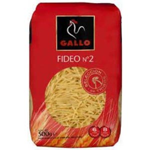 Gallo Fideo Nº 2  1/2