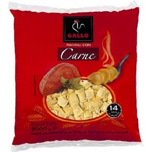 Raviolis De Carne 2 K. Gallo