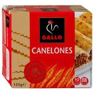 Canelones 600 Placas Gallo