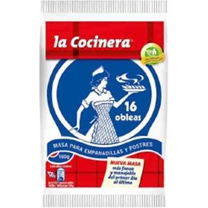 Base Empanadillas La Cocinera 16 Unid160 Grs