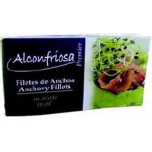 Anchoas Aceite Vegetal 1/8 Alconfriosa