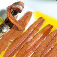 Anchoas, bacalao y salazones